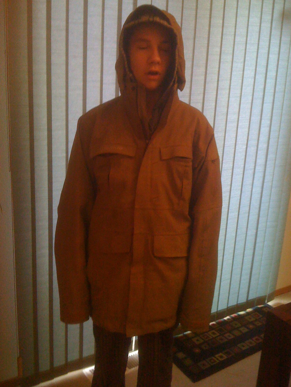 Titanium jacket