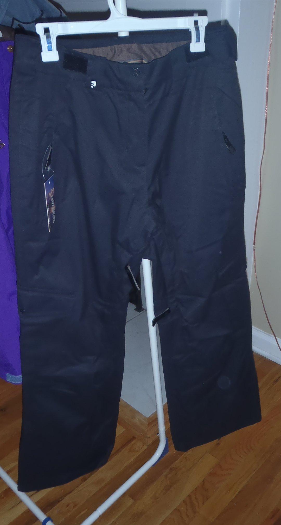 Black Salomon Temptress Pants