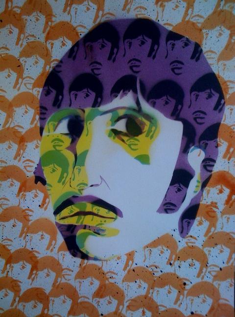 Spray Paint Ringo