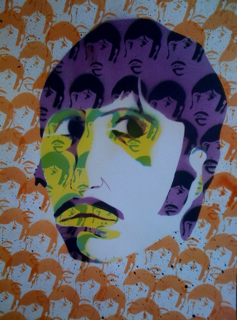 Spray Paint Ringo