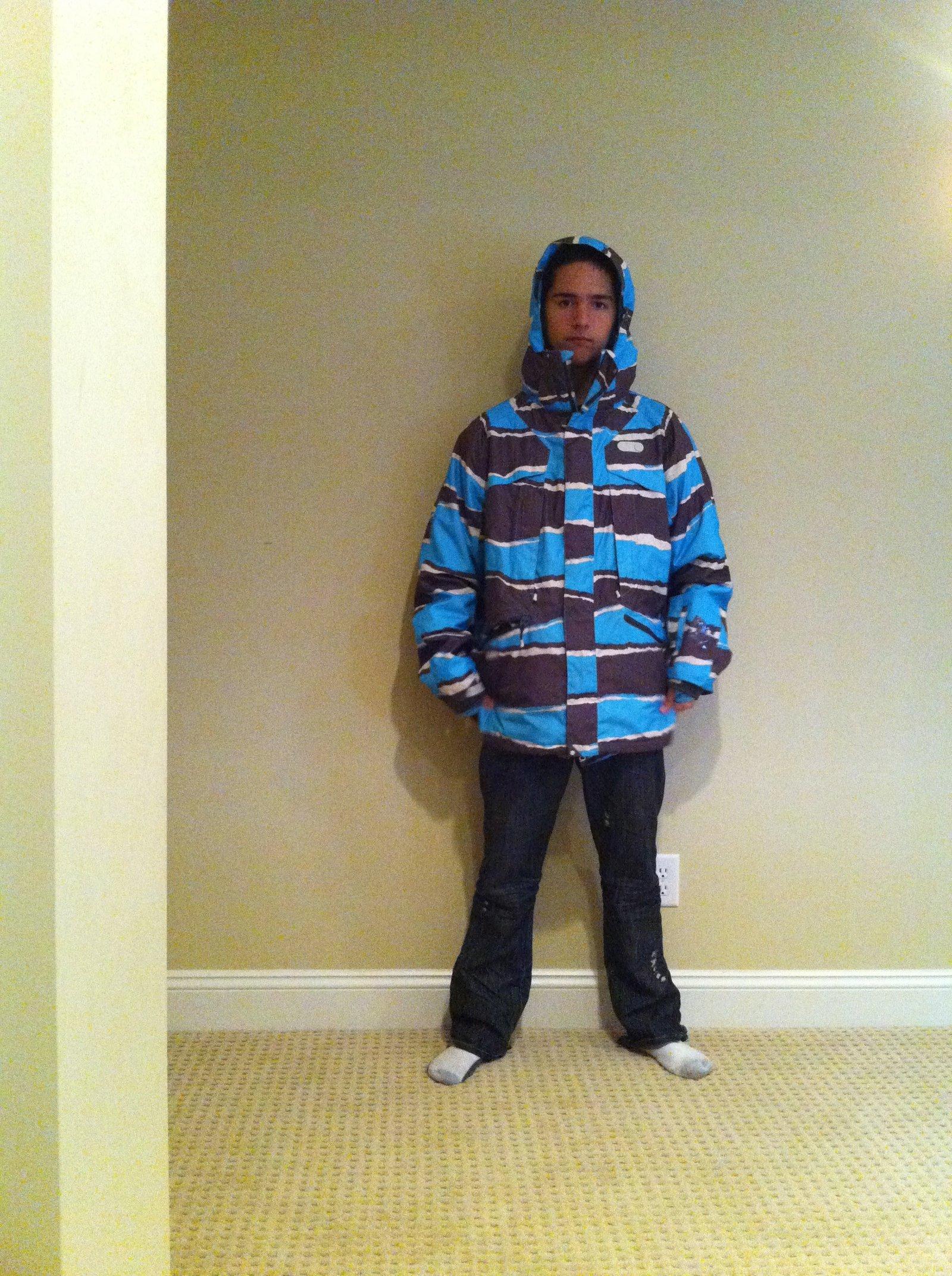 Jacket sizing