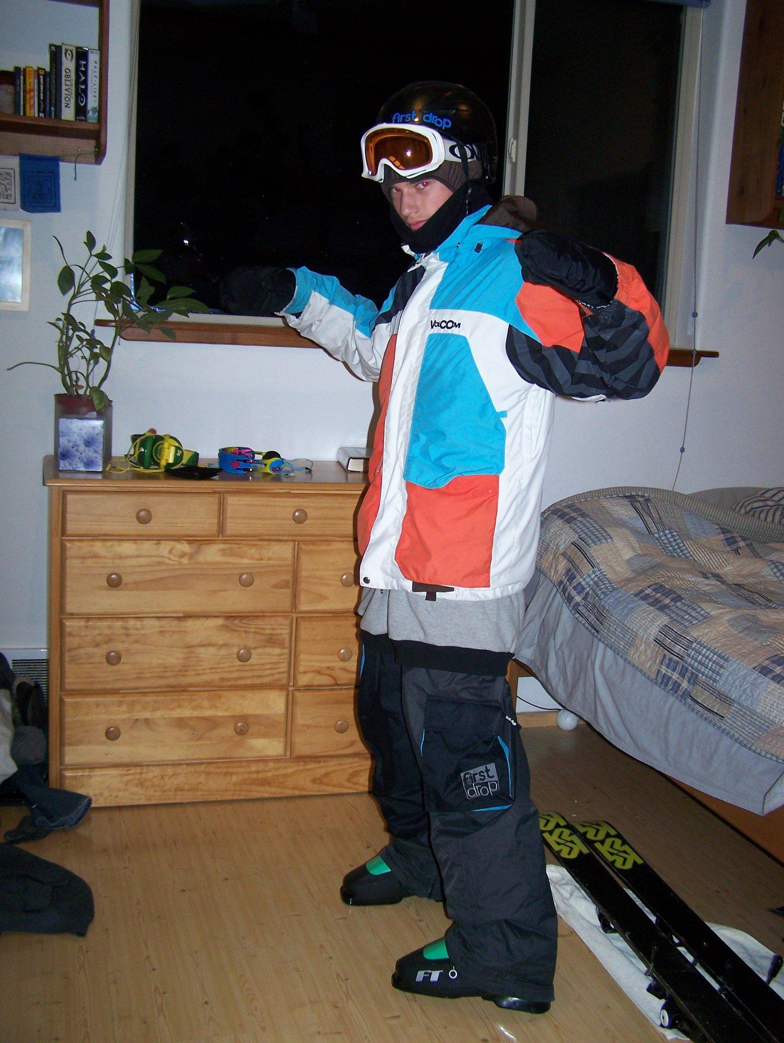 10/11 ski outerwear