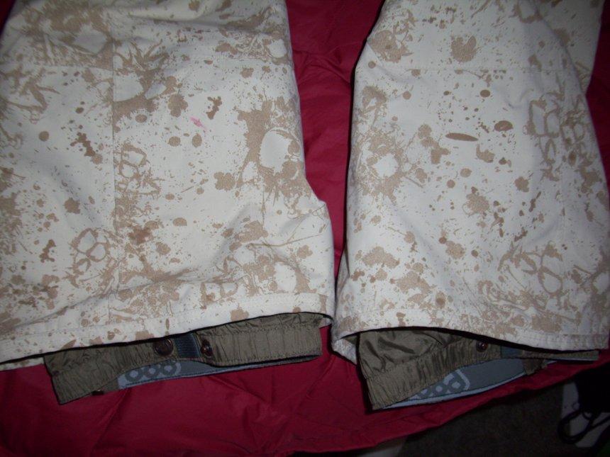 686 pants cuffs