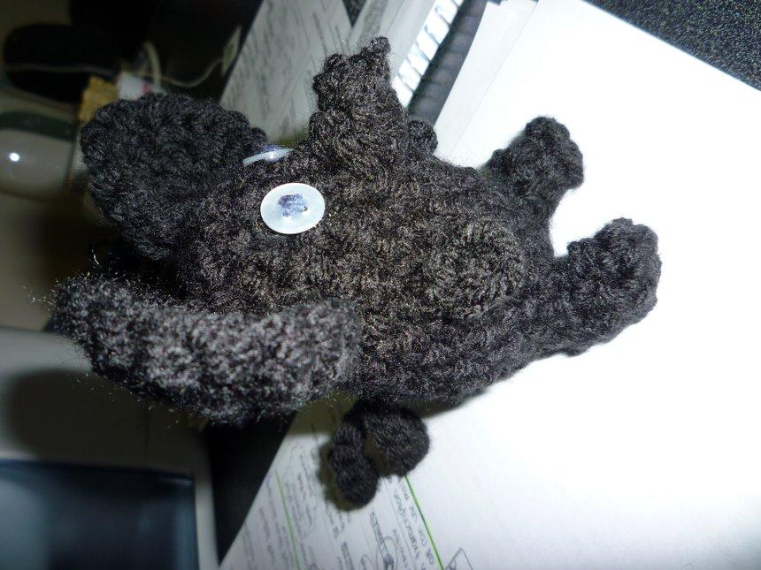 Crochet mouse!