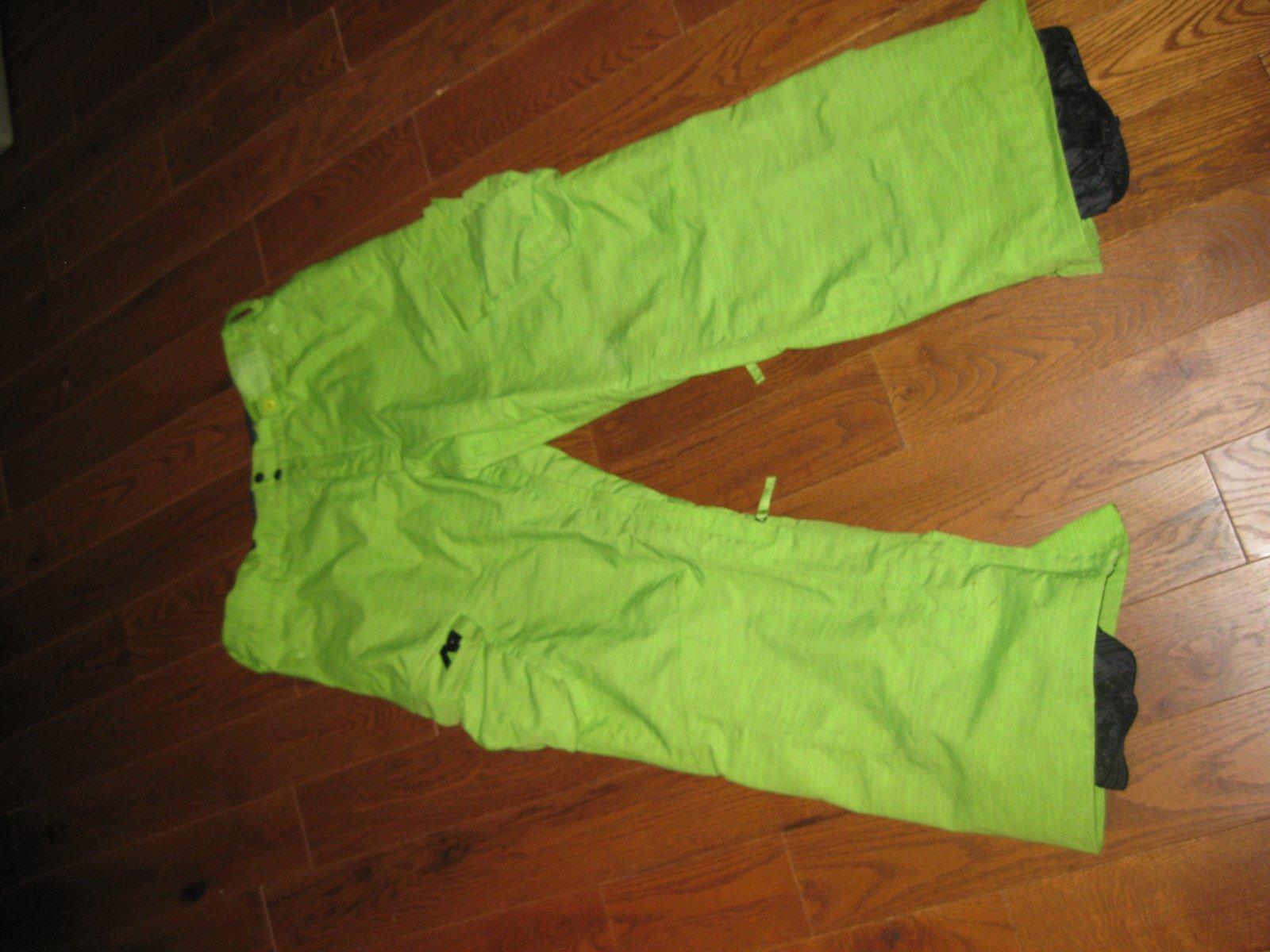 Fs: analog snow pants