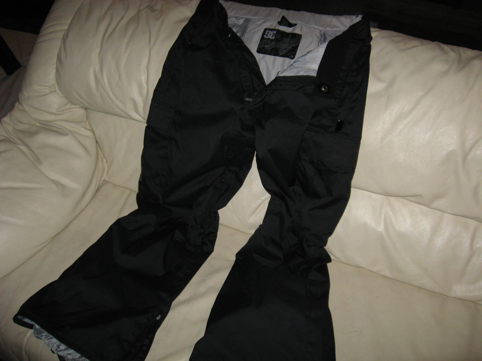 Front of Pant, Open Fly