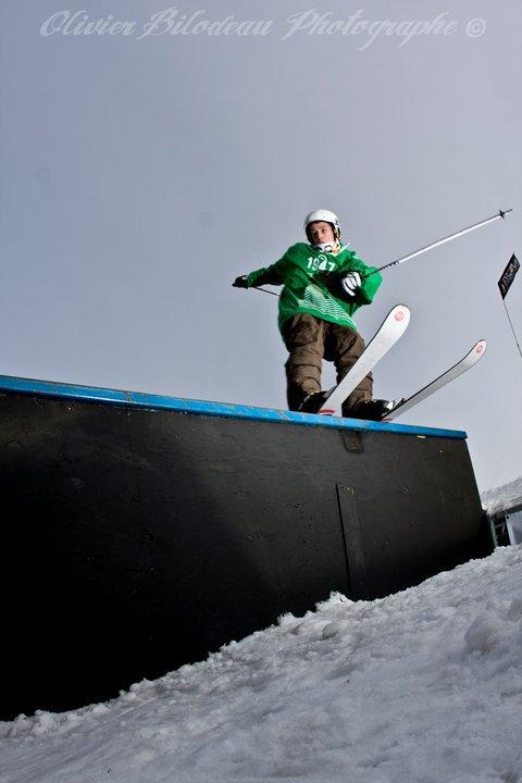 Rail Jam Ski Town