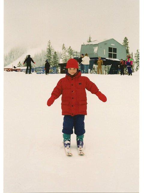 Early Skiing Years