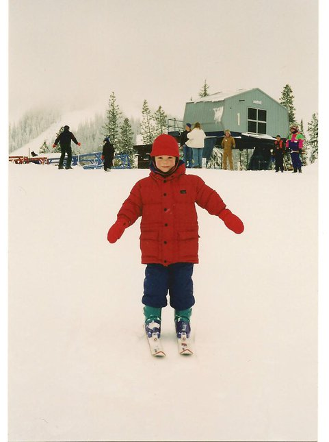 Early Skiing Years