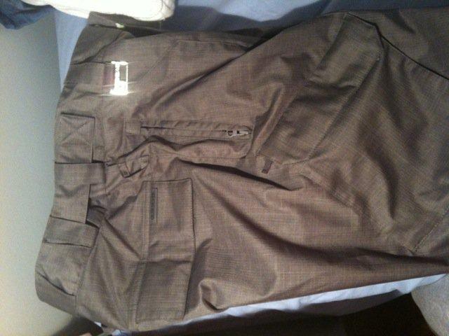 Side of pants