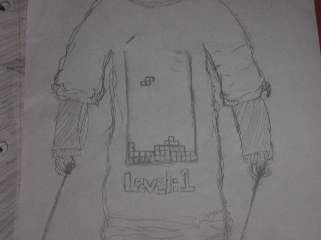 Level 1 tee shirt design