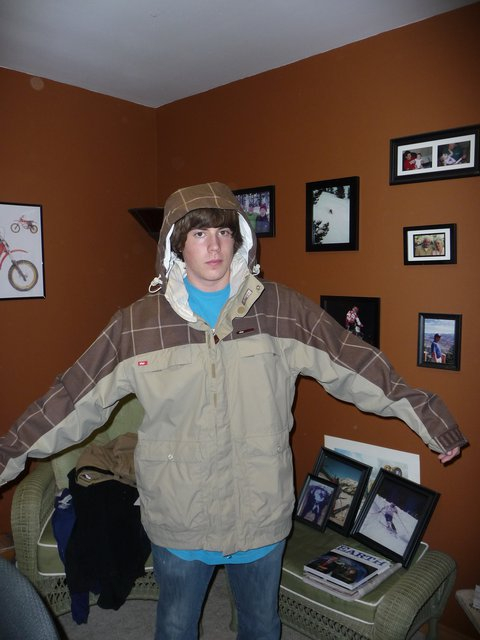 Foursquare jacket