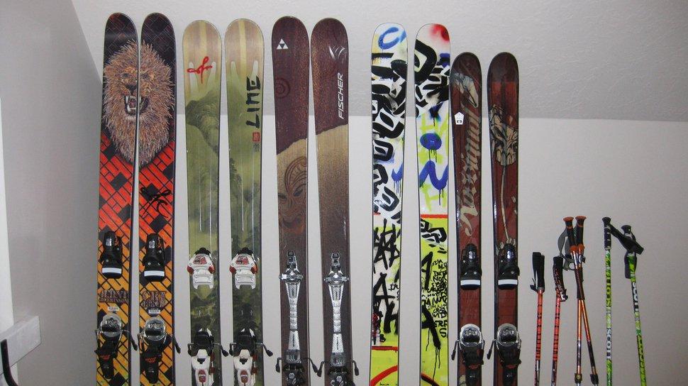 Ski quiver
