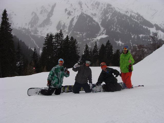 Shredding with the americans