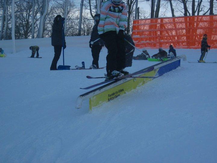 Snowday at app ski mtn