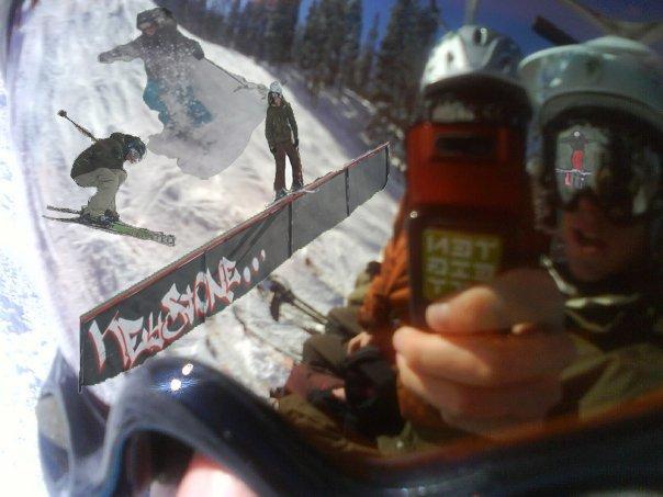 Ski season photoshop