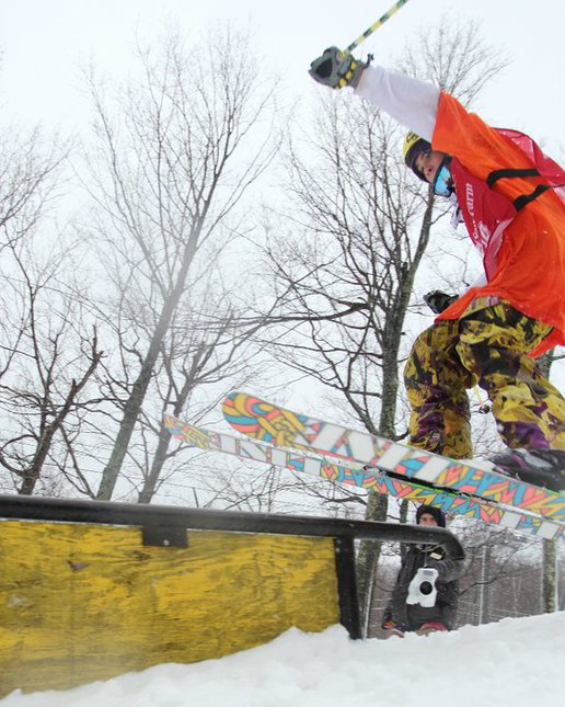 Whiteface Rail Jam
