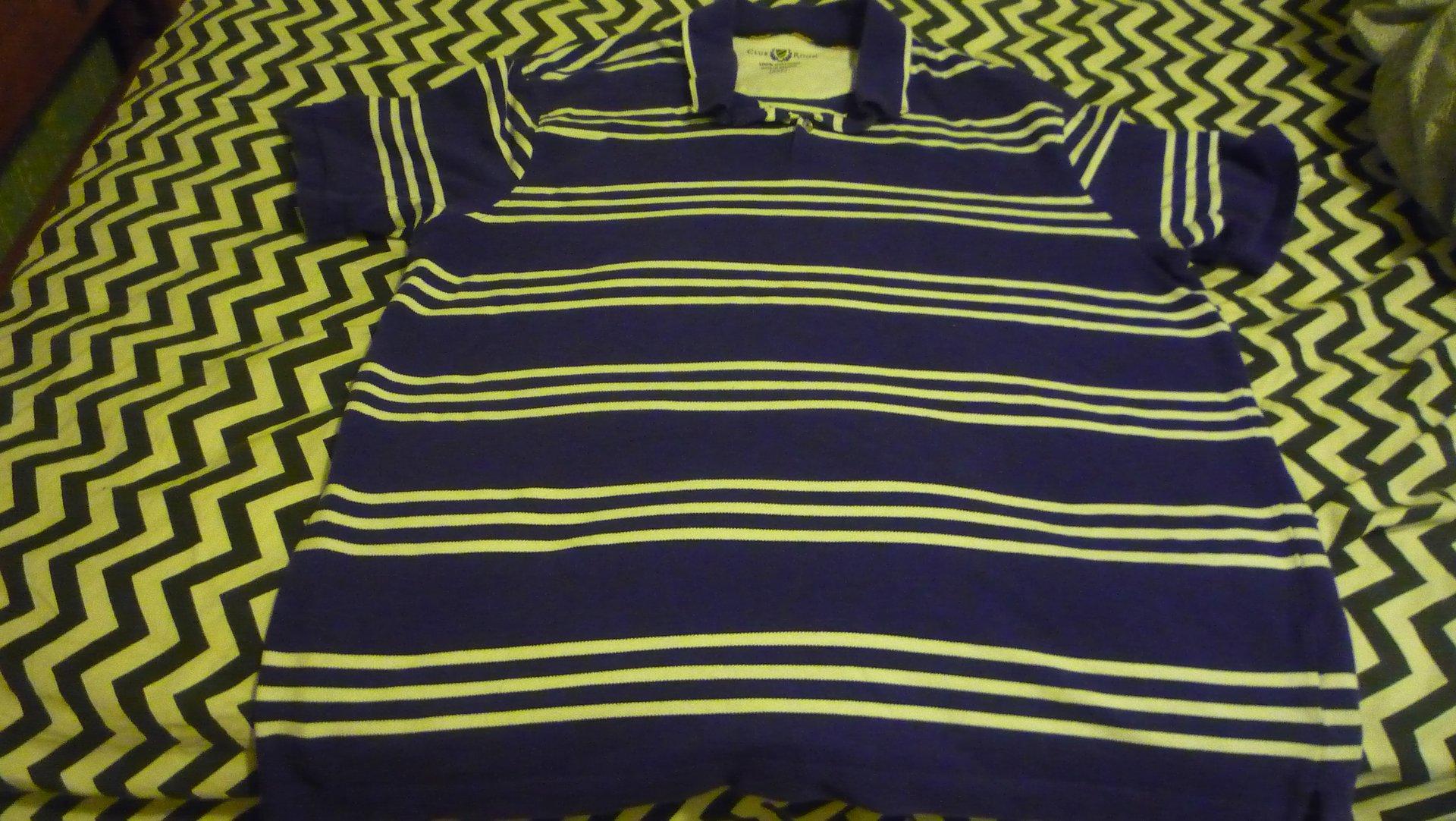 Club Room XXL Purple polo