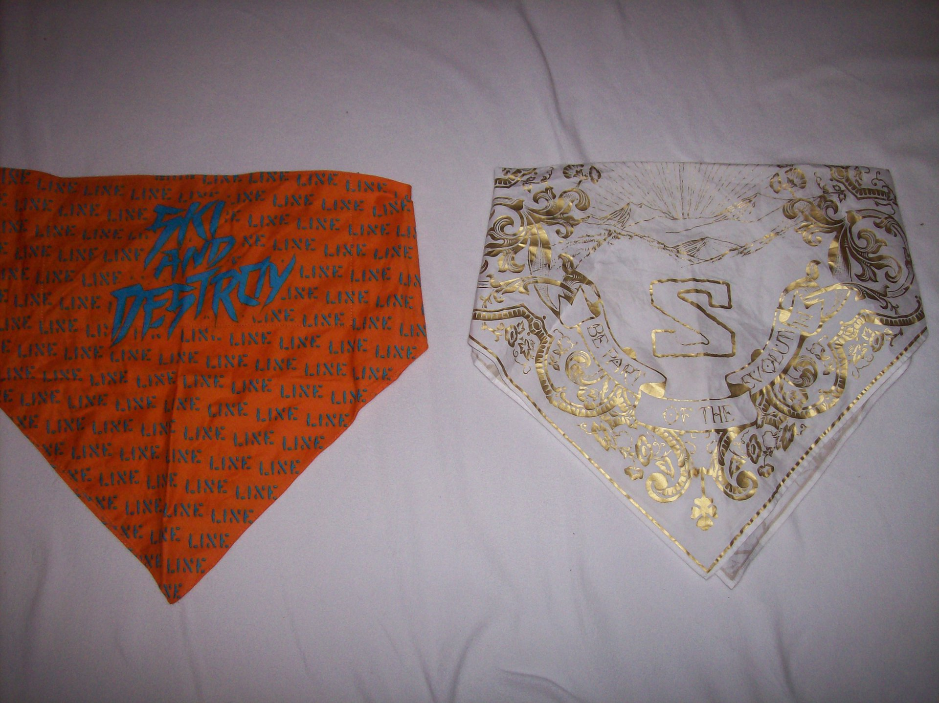 G Suit and Line Bandanas