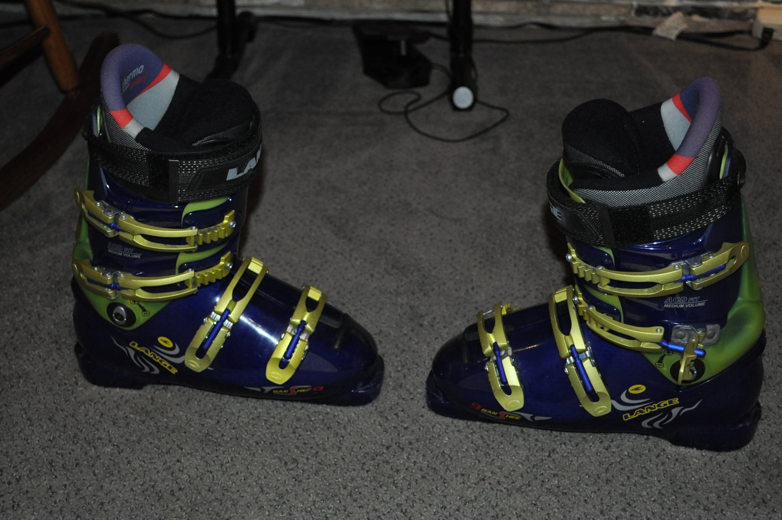 Lang boots