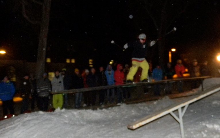 Western State College Rail Jam