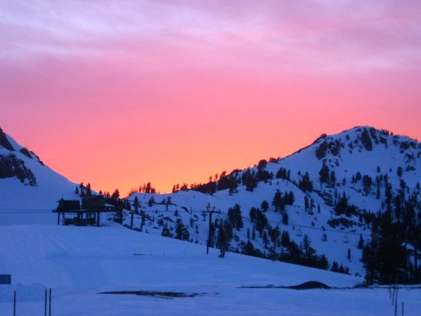Sunset at Squaw
