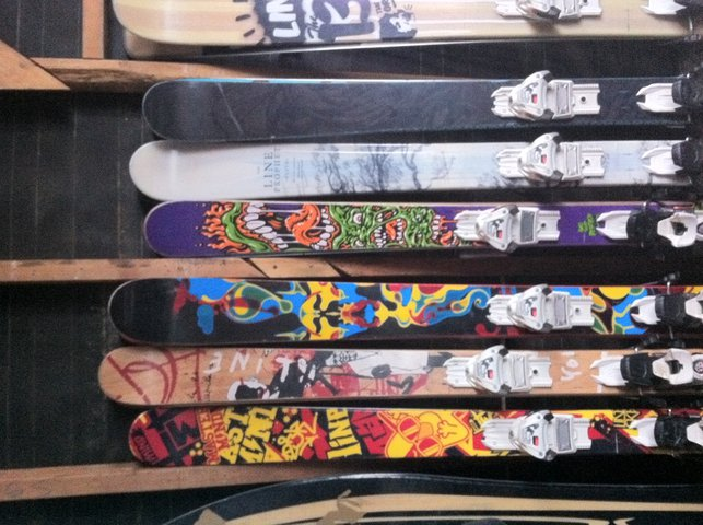 Skis for sale - 2 of 3