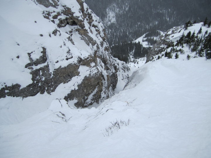 Luxton's Couloir, Sunshine Village