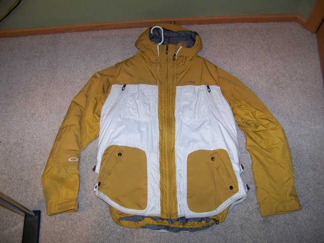 Oakley Jacket with Zip in vest L