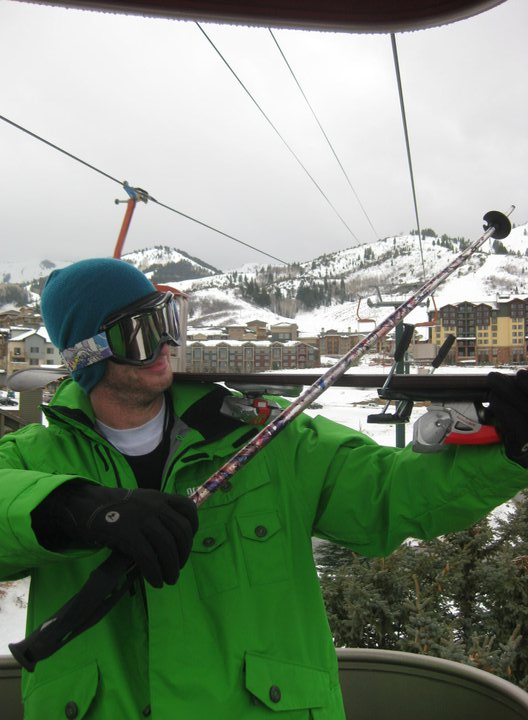 Pow day: music to my ears.