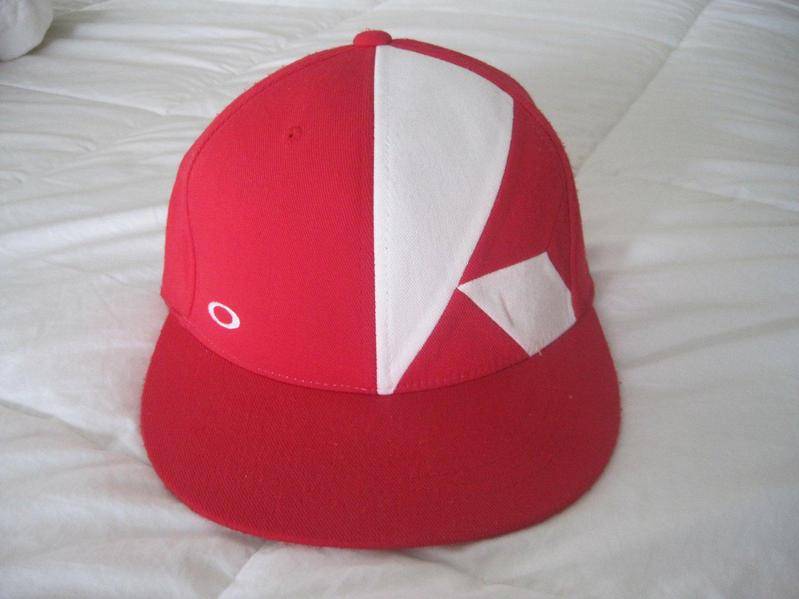 Oakley PRS hat red
