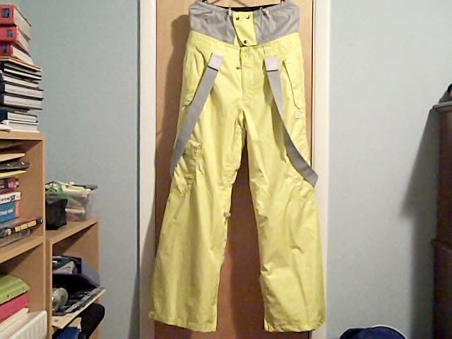 Front; DC Donon Pants Yellow