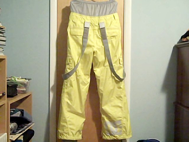 Back; DC Donon Pants Yellow