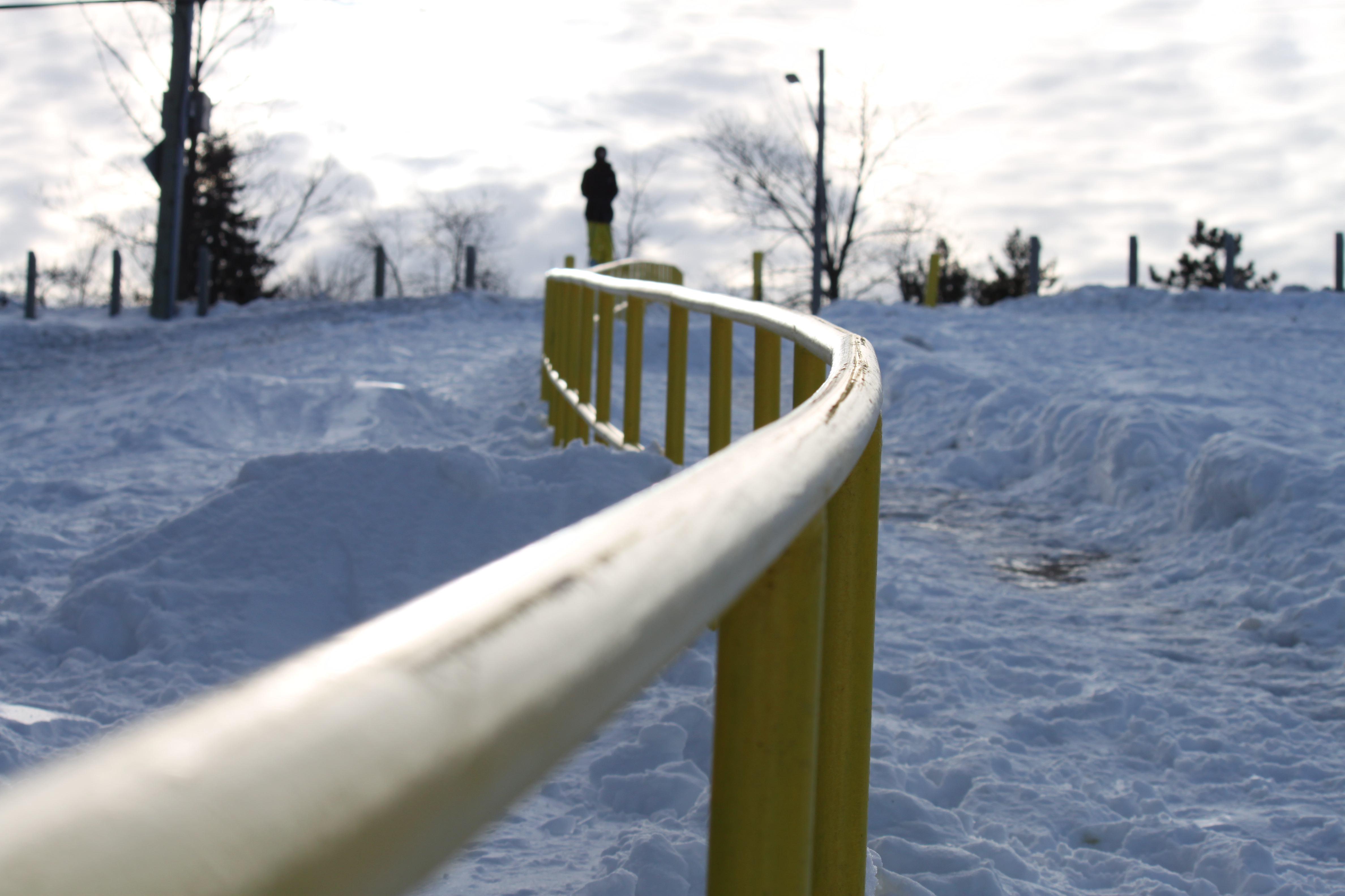 Sick hand rail