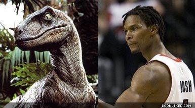 Bosh is a dinosaur