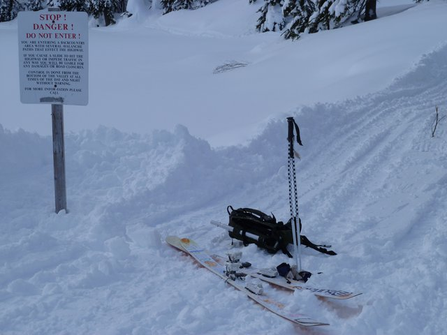Avalanche Control Warnings