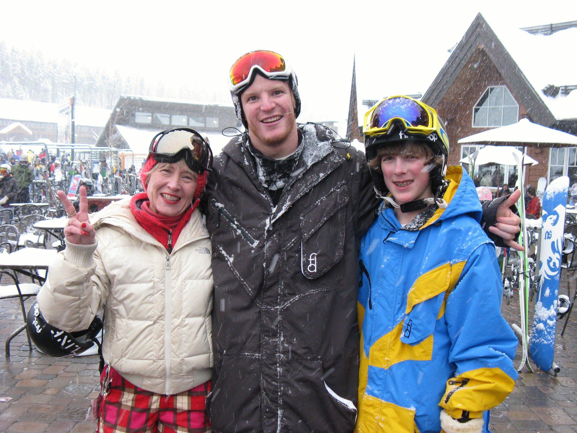 LJ Strenio at the Breck Dew
