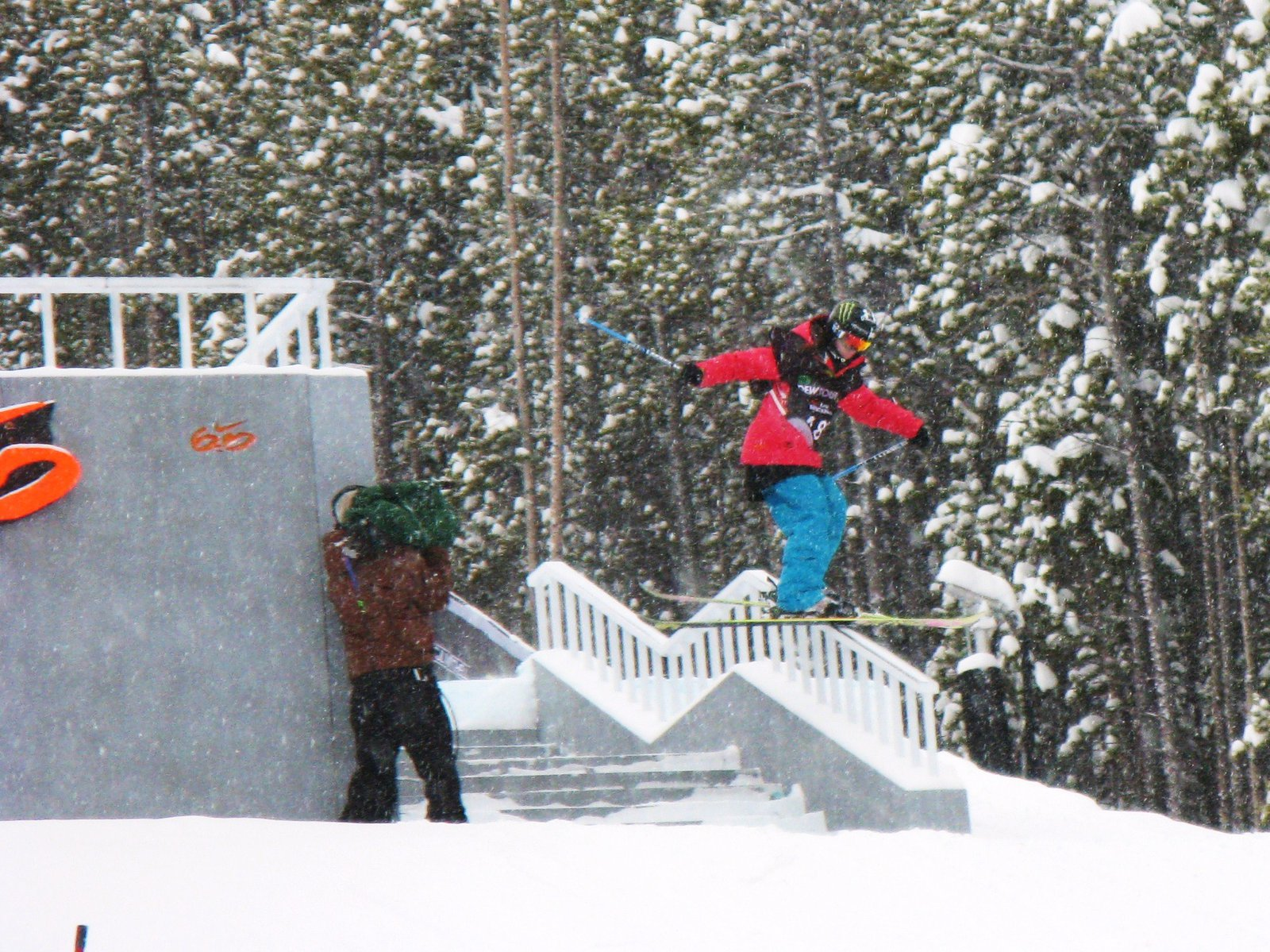 Keri Herman slayin the rail