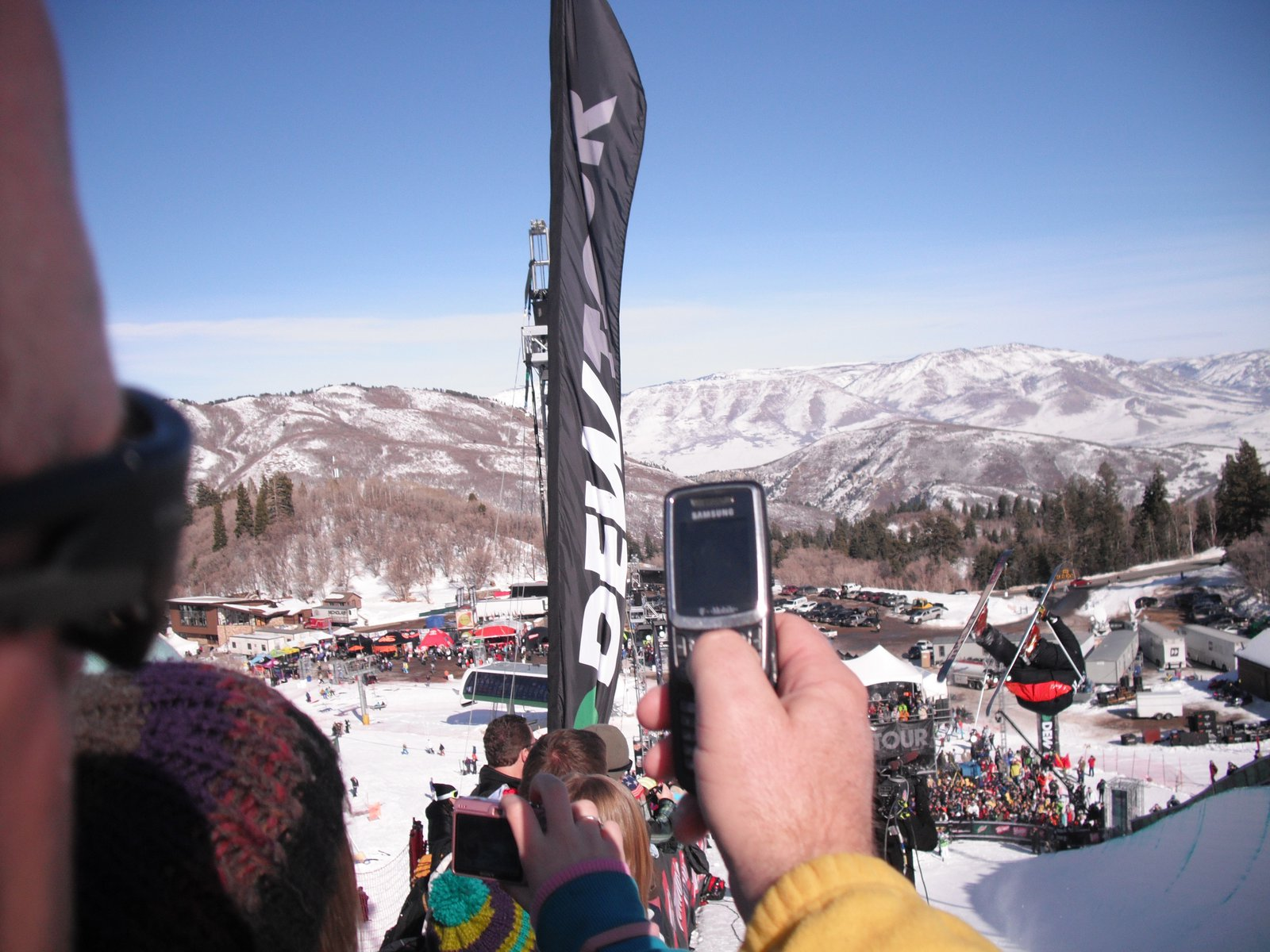 Dew tour half pipe