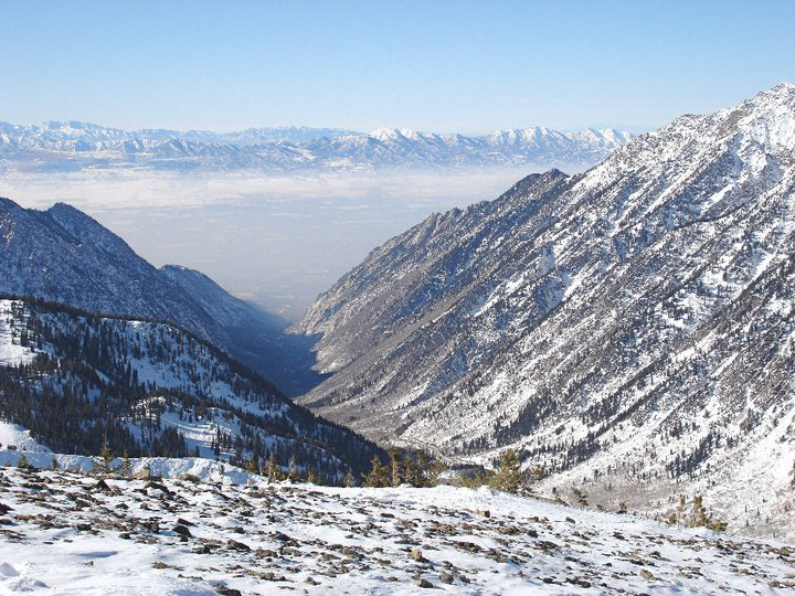 Little Cottonwood Canyon from Superior