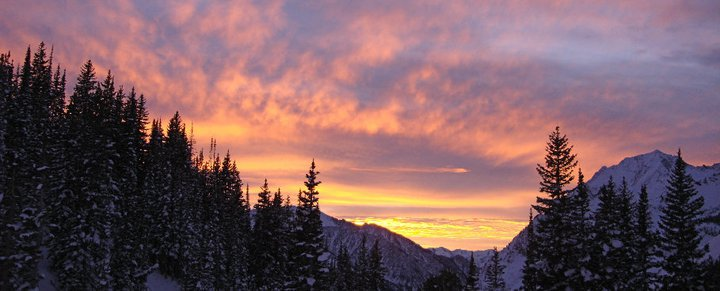 Sunset from Grizzly