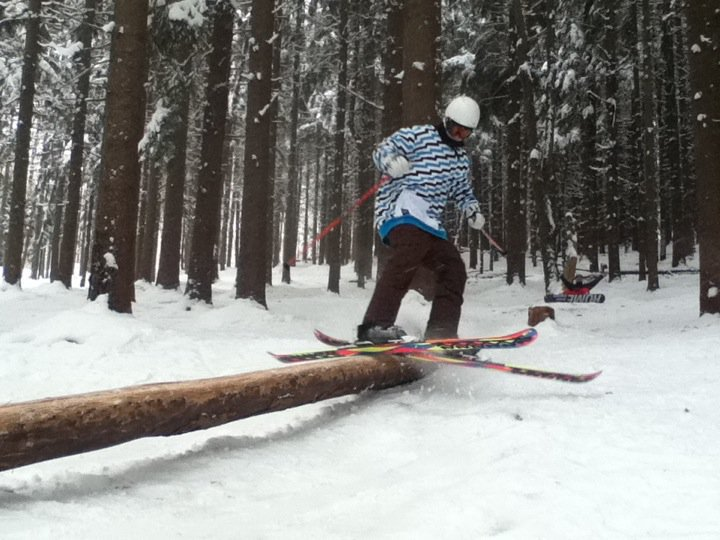 Awh yeah, log jib