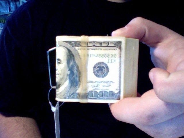 FS: $100 belt buckle