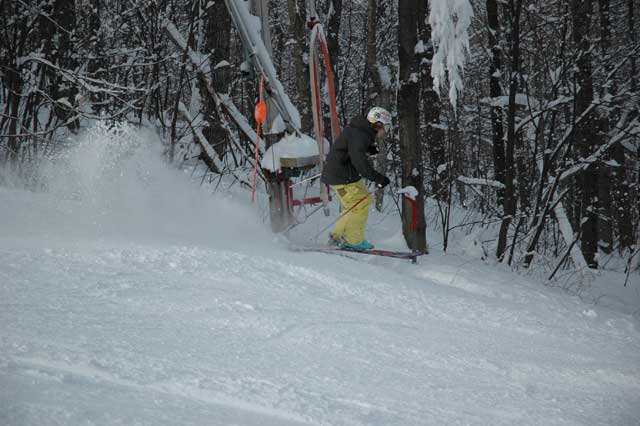 Ripping the tree line