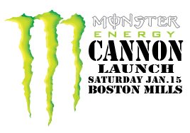 Monster Cannon Launch at Boston Mills 1.15.11