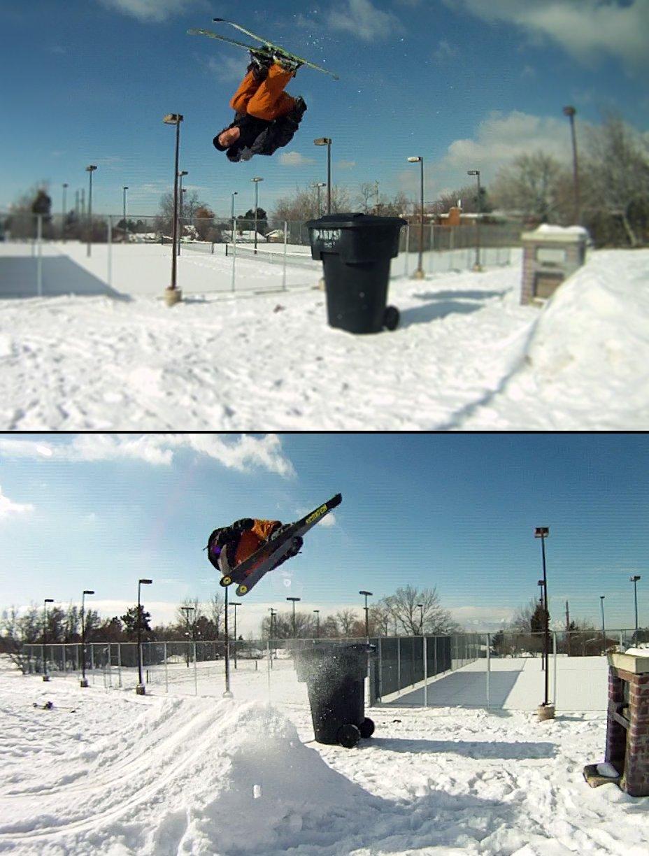 Rail Gardens Trash Jump