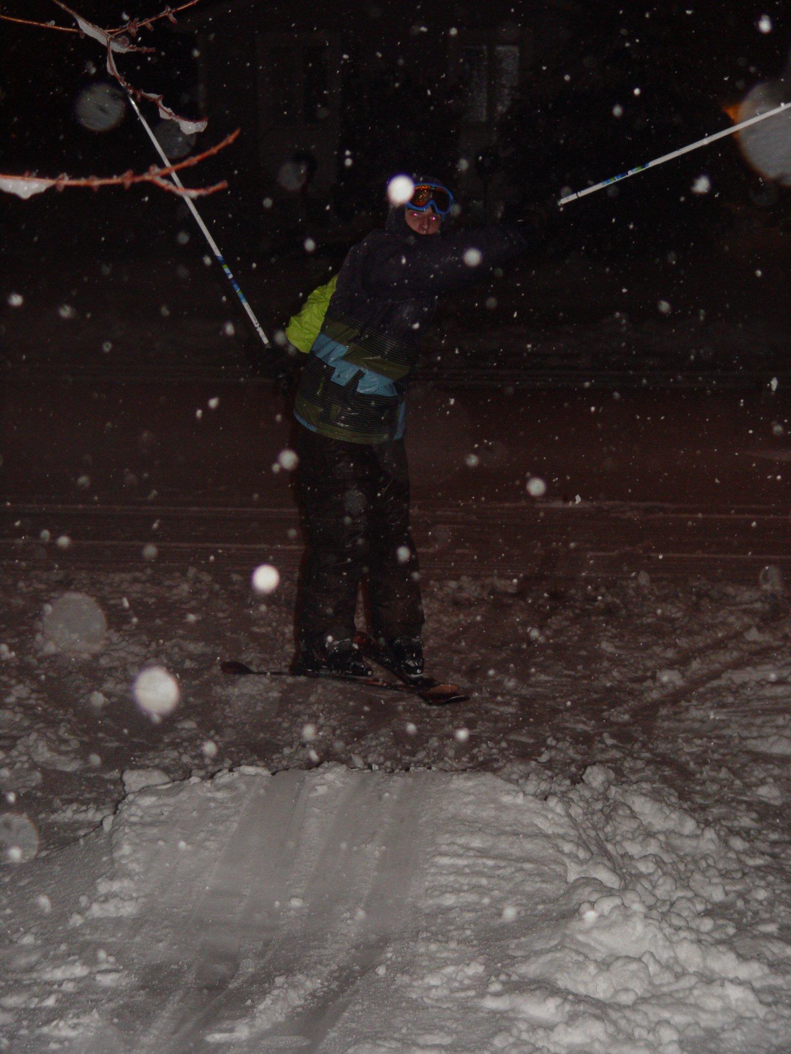 Font Yard Skiing