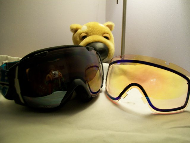FT - Smith i/o (Bobby Brown) goggles with 2 lense