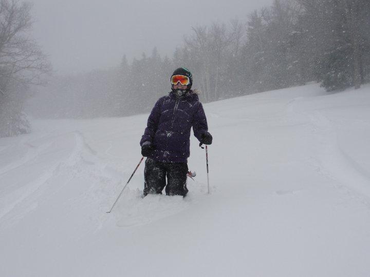 Powder Day at Mount Snow!