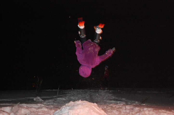 My secound backflip